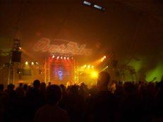 church stage like disco