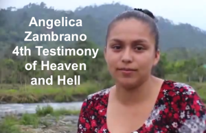 Angelica Zambrano 4th experience with God