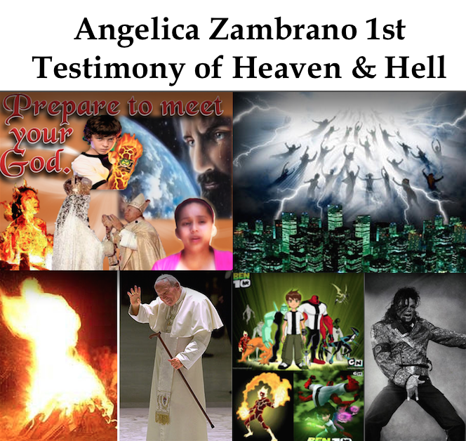 Angelica Zambrano 1st Testimony of Heaven and Hell – Christ
