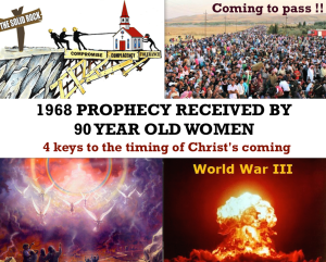 90 year old women prophecy